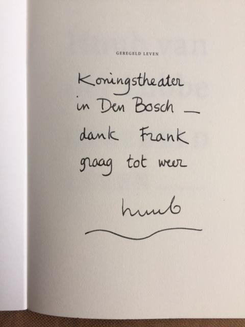 Wonderlijk Frank Verhallen - Gedicht gedacht ZP-36